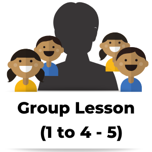 Group Lesson (1 Educator to 4-5 Learners)
